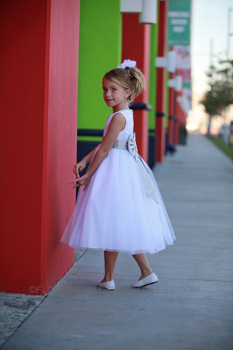 Tt570017 flower girl dress style 5700 white or ivory dress with tt570017 flower girl dress style 5700 white or ivory dress with choice of sash royal blue flower girl dresses flower girl dress for less izmirmasajfo