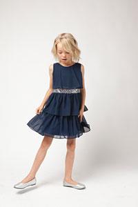 Dark Blue - Flower Girl Dresses - Flower Girl Dress For Less