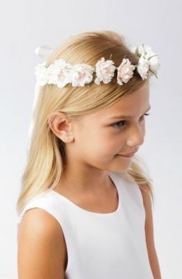 Floral Head Wreaths - Flower Girl Dresses - Flower Girl Dress For Less 7ab59d6c3ca