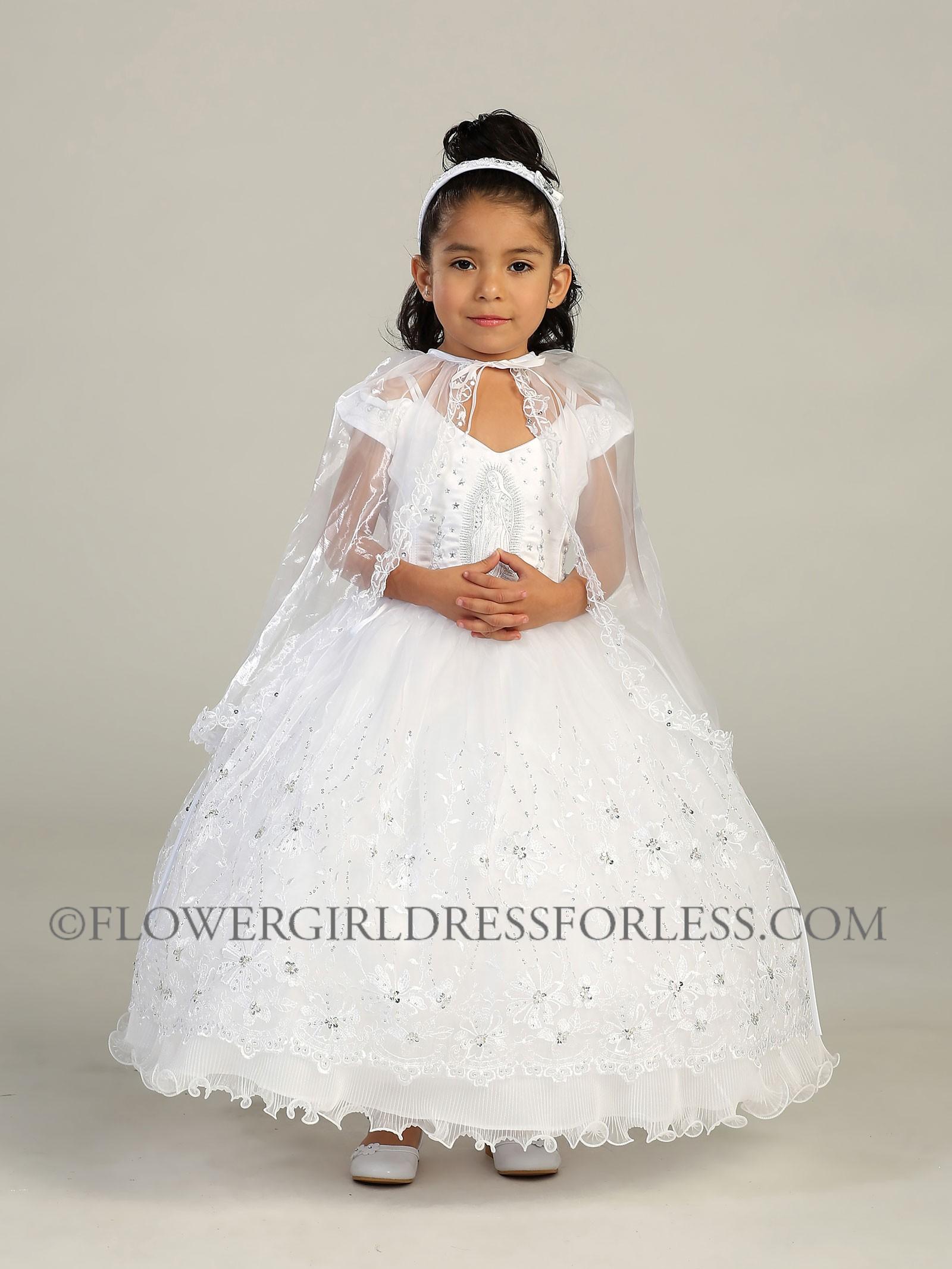 Girls Baptism Dresses - Qi Dress