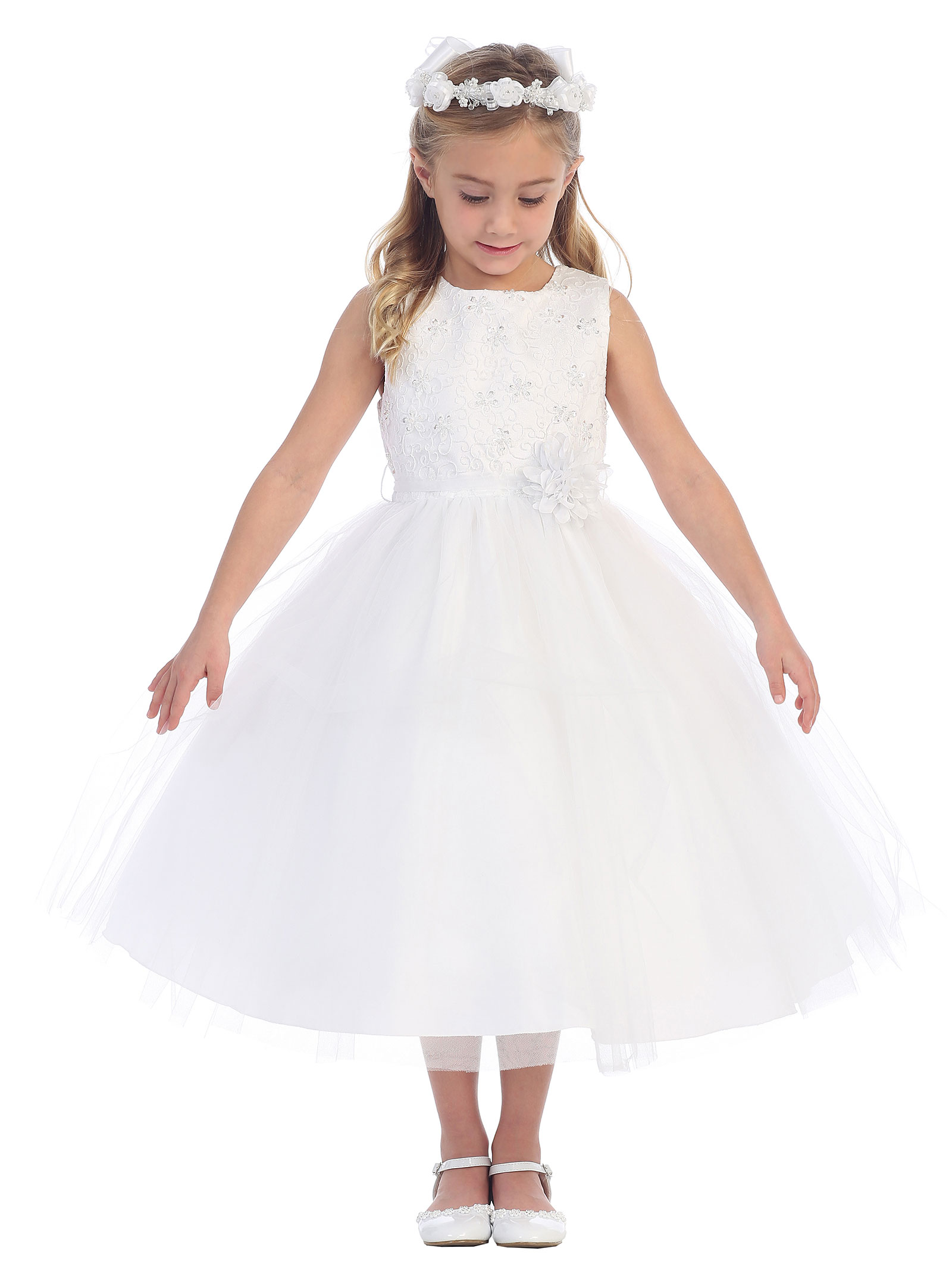 TT 5670W Girls Dress Style 5670 In Choice of Color