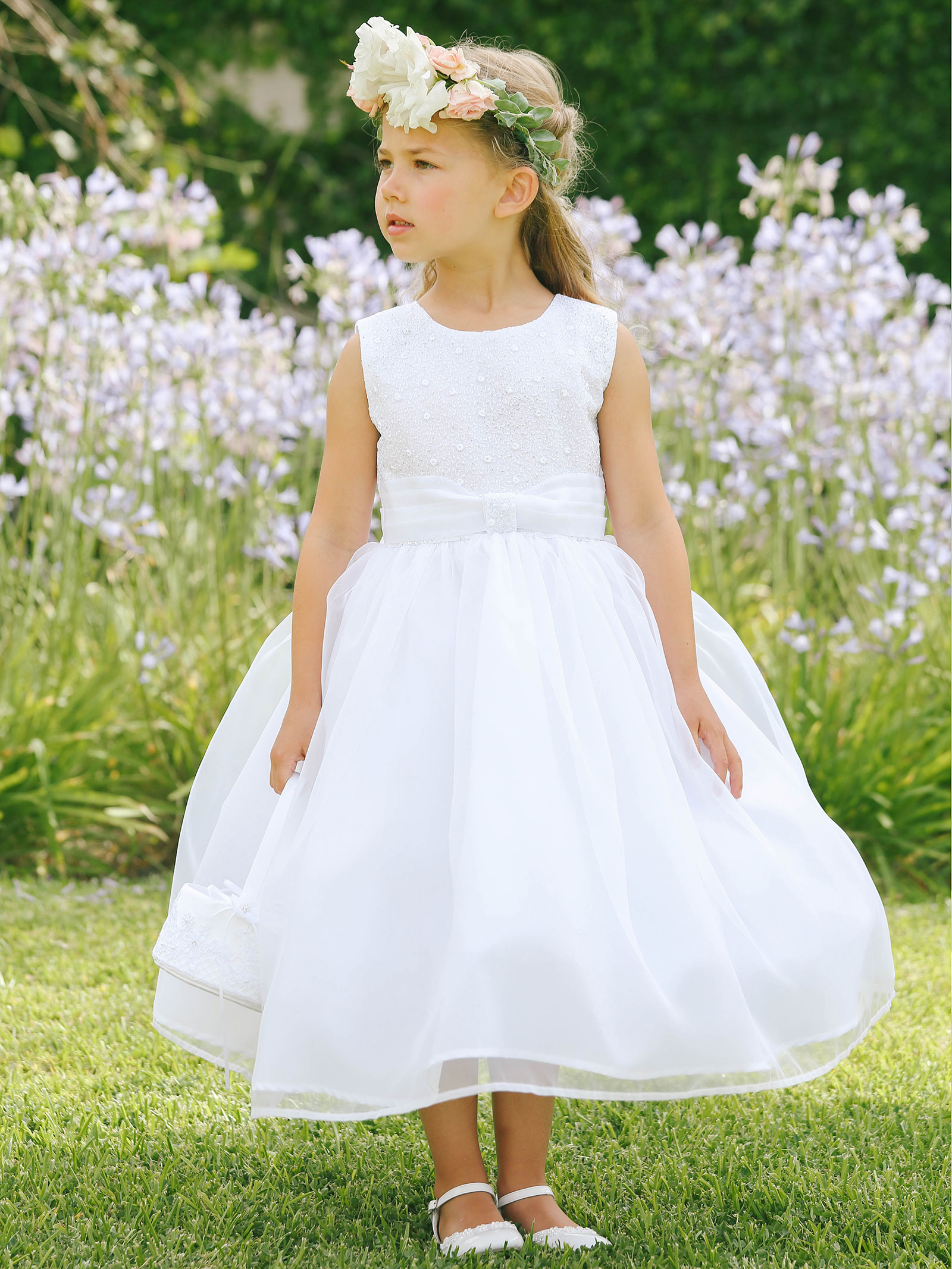 TT 5671W Girls Dress Style 5671 In Choice of Color