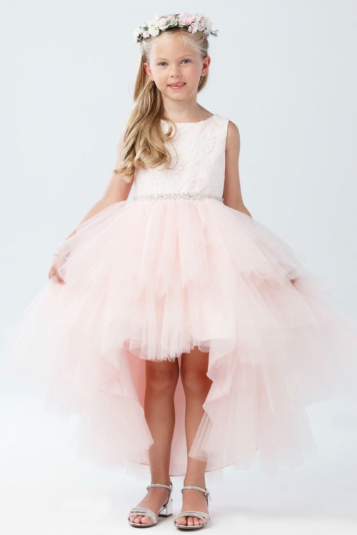 S Dress Style 5722 Satin And Tulle High Low In Choice Of Color