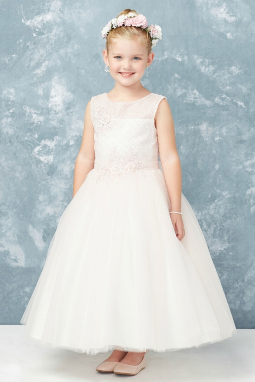 a5e295646d3 TT_5753BL - Girls Dress Style 5753 - Sleeveless Embroidered Beaded Gown in  Choice of Color - Tip Top Kids - Flower Girl Dresses - Flower Girl Dress  For Less