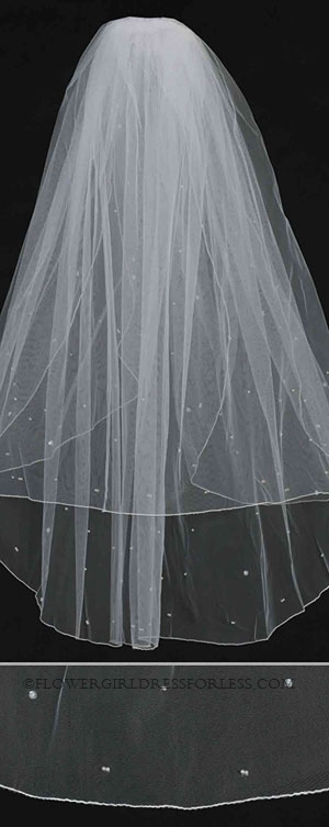 Tt 809 Womens Bridal Veil Style 809 With Comb