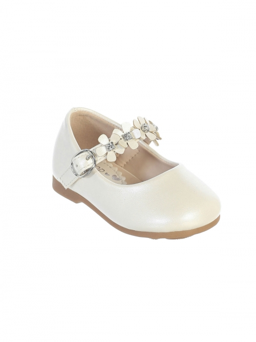 IVORY- Girls Infant and Toddler Shoe