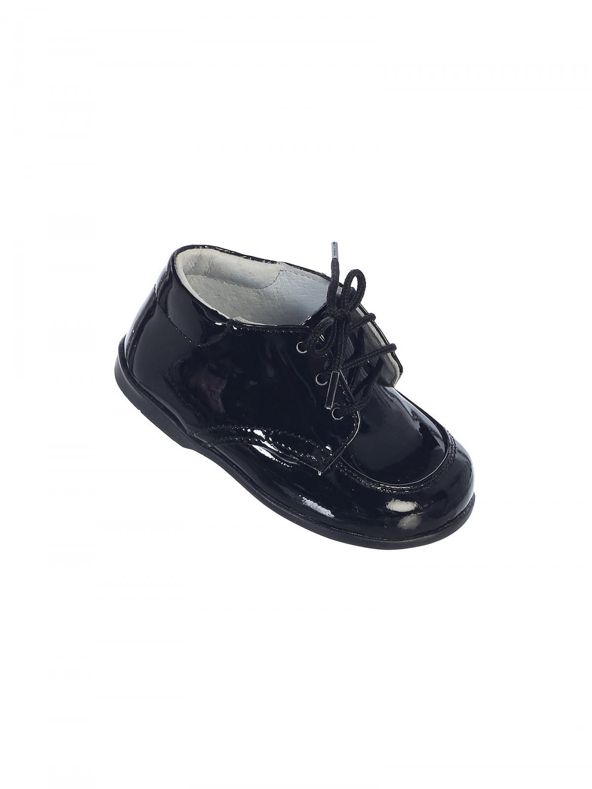 TT S308B Boys Infant and Toddler Shoes Style S308 Black ly