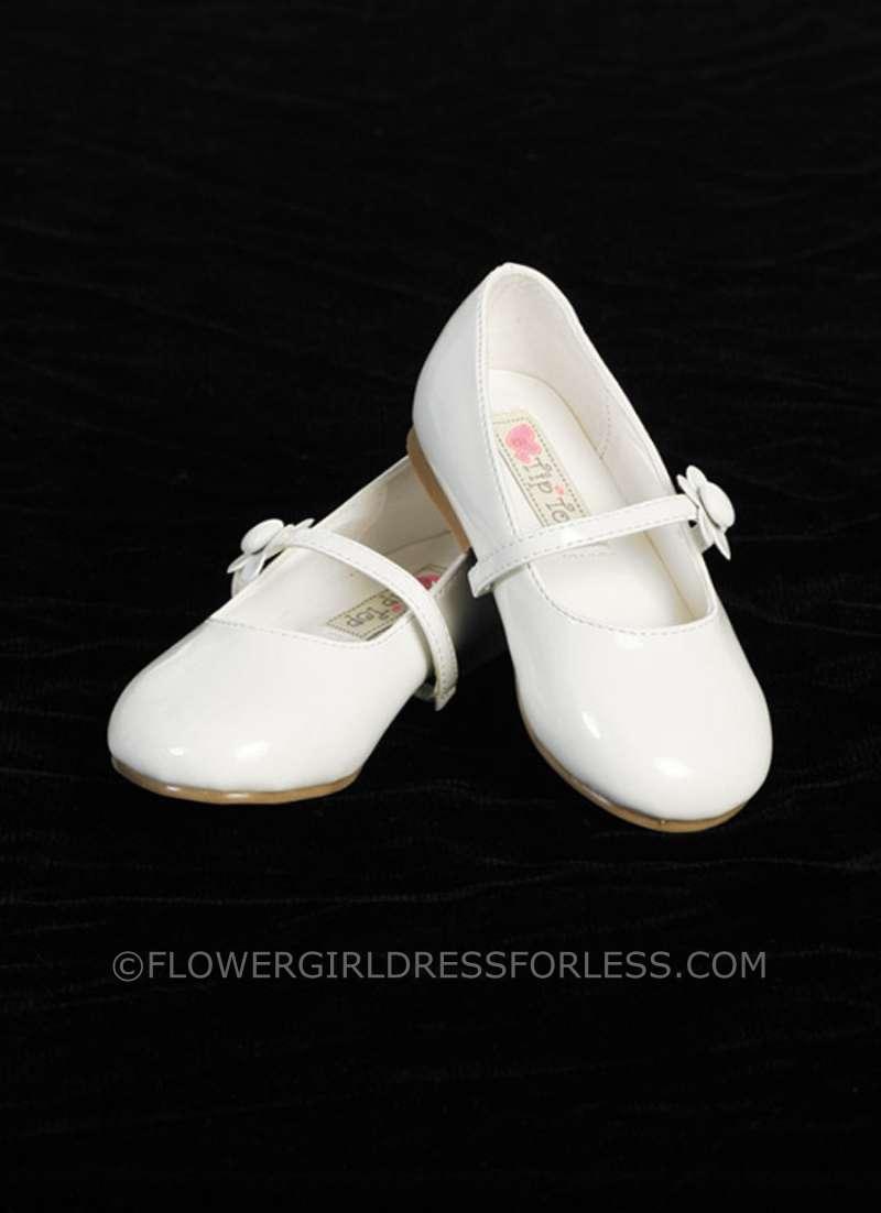 Flower Girl Shoes White | Lea Wedding