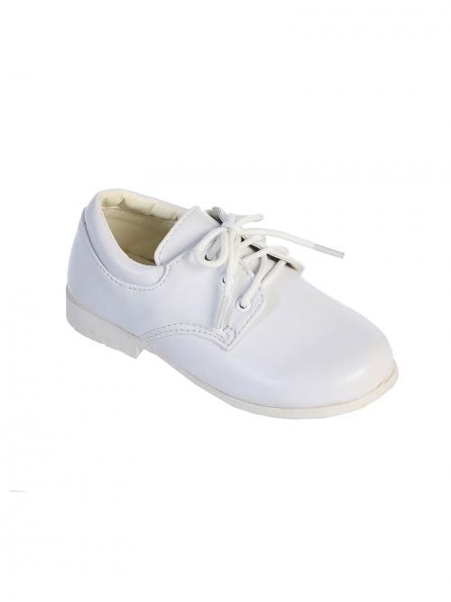TT S84W - Boys Toddler Shoes size 9- Boys size 4 WHITE - Tip Top ... d733cf610