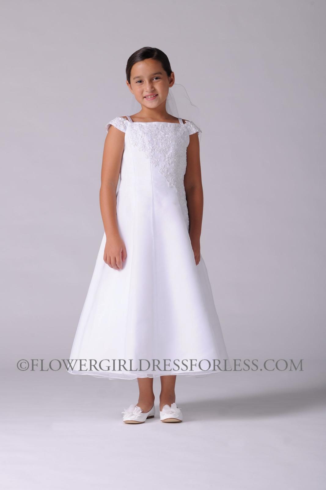 Simple White Dresses For Girls