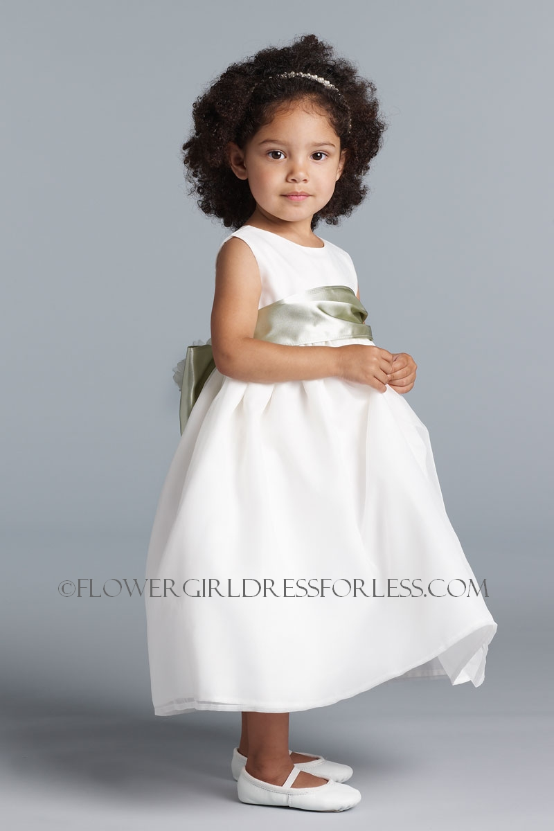 Ua40911 Us Angels Flower Girl Dress Style 409 Build Your Own