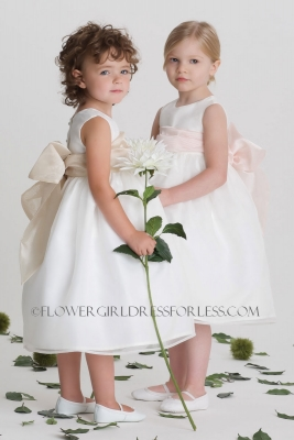 a694b0a1da3 Flower Girl Dress Style 409 - SALE White size 12mth or Ivory size 5