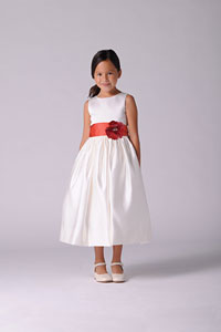 All Satin Dresses - Flower Girl Dresses - Flower Girl Dress For Less