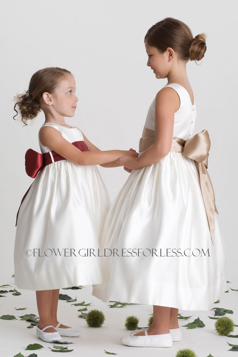 02b2a211190 UA 702 11 - Us Angels Flower Girl Dress- Style 702- Build Your Own ...