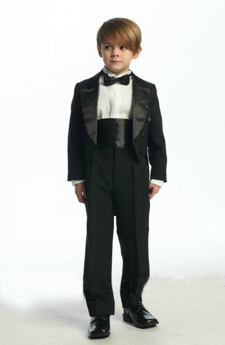 d72cc76281 Boys Suit Style 4001- 5 Piece Tuxedo Set with Tails