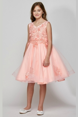 600ee4cea29 Girls Dress Style 9020 - Short Sequin Party Dress in Choice of Color