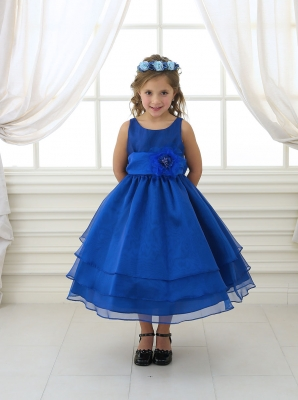 Blue [All Shades] - Flower Girl Dresses - Flower Girl Dress For Less