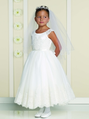 Designer Communion Dresses - Flower Girl Dresses - Flower Girl ...
