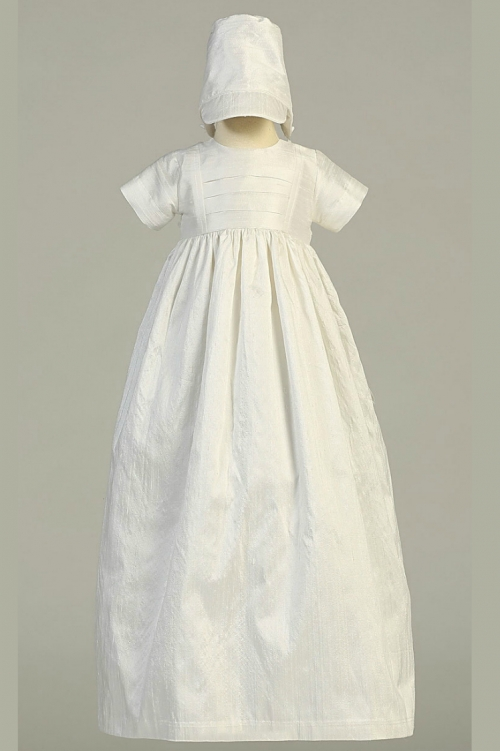 e78e655a510 L JAMIE - Girls Baptism Christening Gown Style JAMIE- WHITE Gown ...