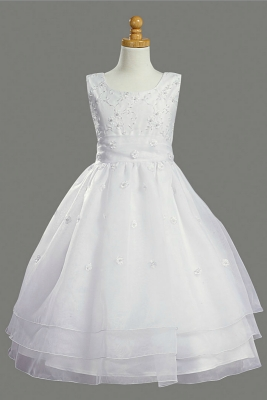 03e4d271e First Holy Communion-Flower Girl Style SP930 - SALE White size 7