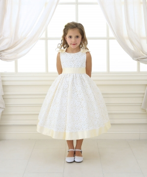 Lace Dresses - Flower Girl Dresses - Flower Girl Dress For Less