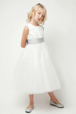 See all dresses flower girl dresses flower girl dress for less flower girl dress style 5700 white or ivory dress with choice of sash mightylinksfo