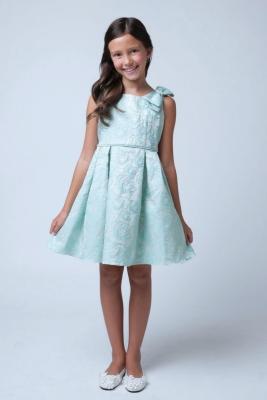 Blue Short Party Dresses for Girls