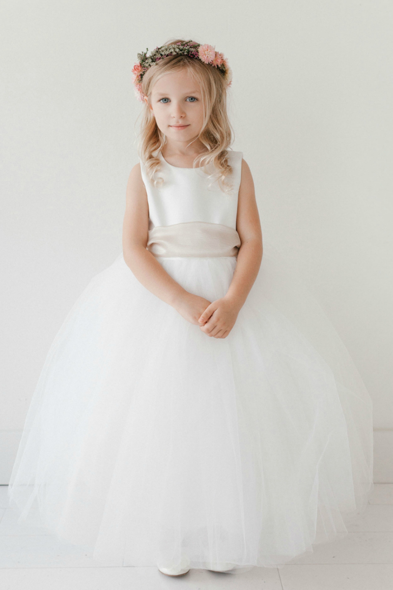 A Line Dresses Flower Girl Dresses Flower Girl Dress For Less