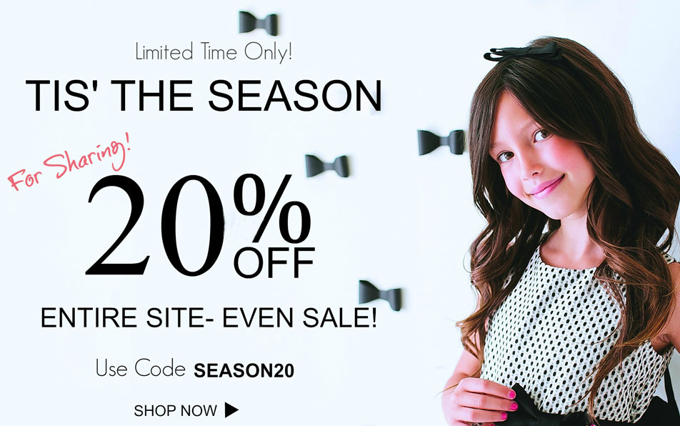 20% Off Any Item In The Store. Use Coupon Code SEASON20
