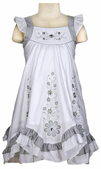 Girls Cotton Dresses - Flower Girl Dresses - Flower Girl Dress For ...