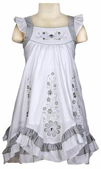 Girls Cotton Dresses - Flower Girl Dresses - Flower Girl Dress For ...