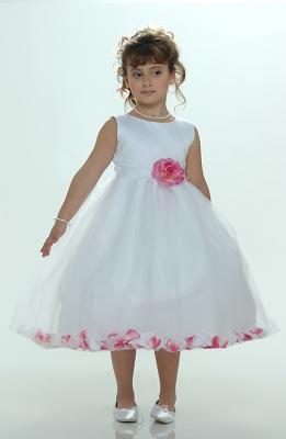 Sizes 7 16 flower girl dresses flower girl dress for less flower girl petal dress white or ivory sleeveless satin and tulle petal dress with hot mightylinksfo