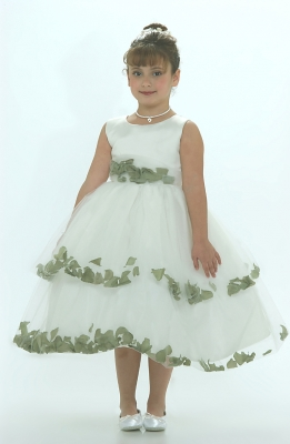 Sage Green - Flower Girl Dresses - Flower Girl Dress For Less