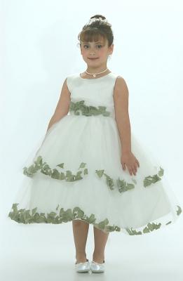 Sage Green - Flower Girl Dresses - Flower Girl Dress For Less