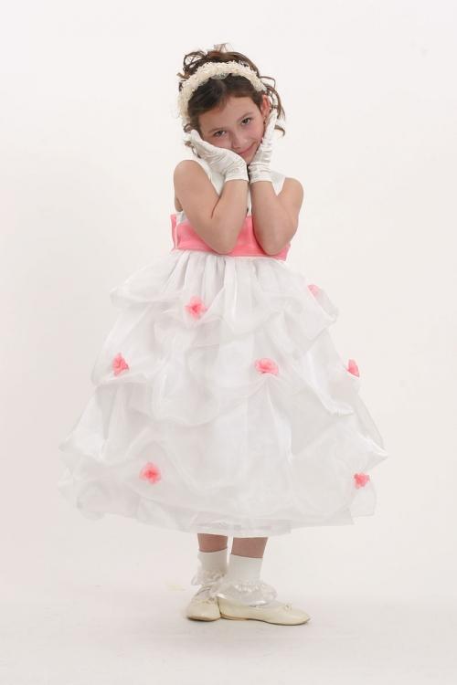 3b1bd41d57bb KK 5213CO - Flower Girl Dress Style 5213 White or Ivory- Sleeveless ...