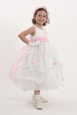 bc56878c08a7 Scattered Rosette Dresses - Flower Girl Dresses - Flower Girl Dress ...