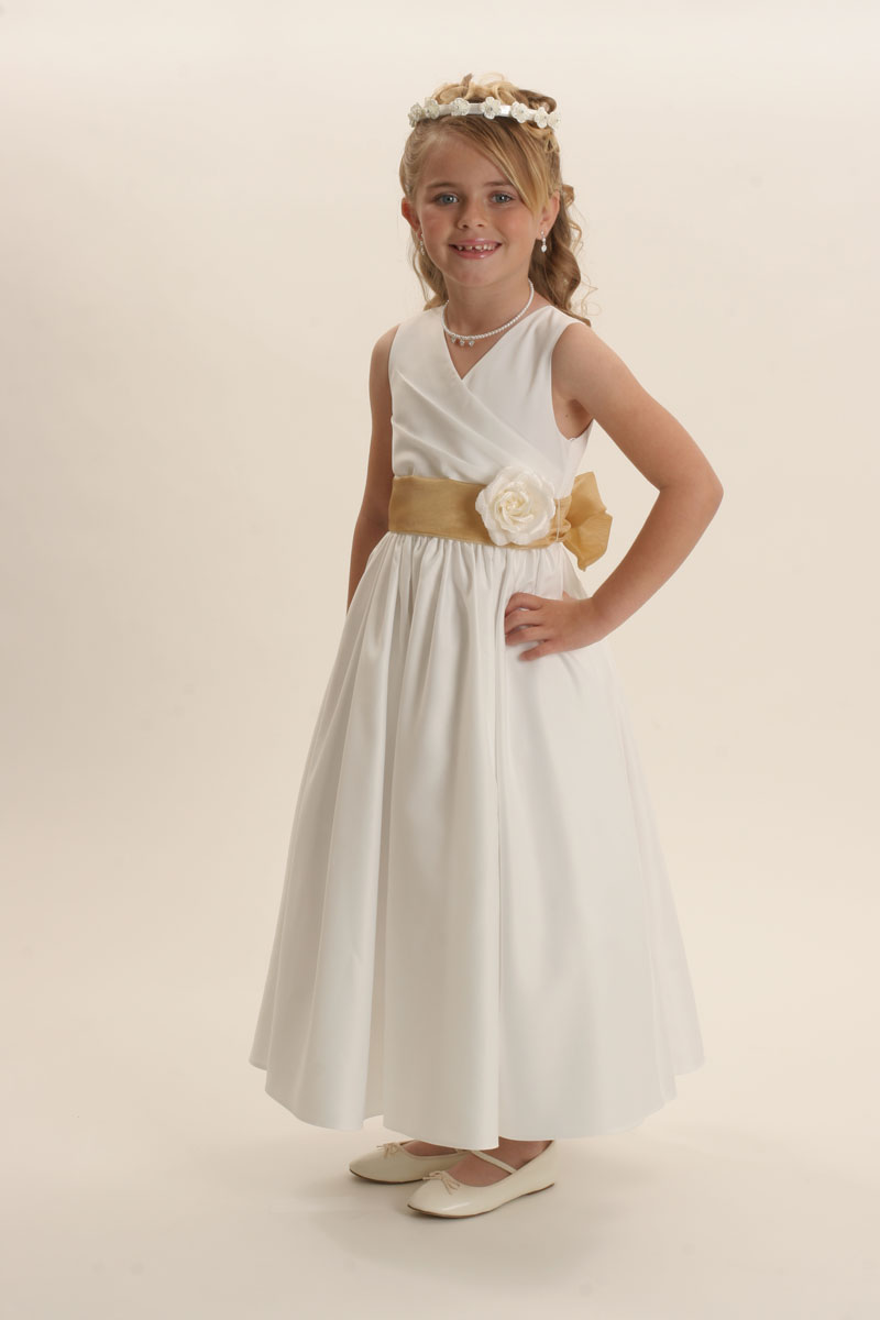 6001i Flower Girl Dress Style 6001 Build Your Own