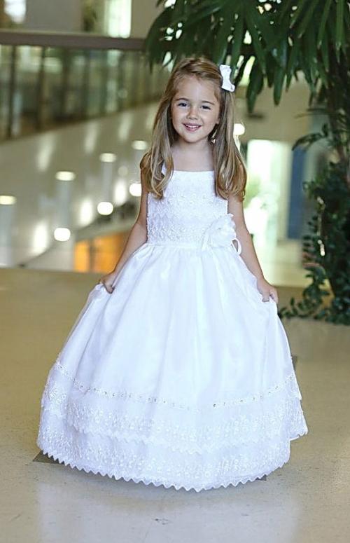 AG_DR307 - Girls Baptism and Christening Dress Style DR307 ...