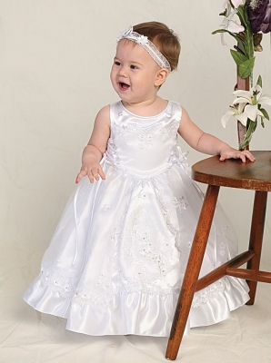 White Flower Girl Dress - Flower Girl Dress For Less