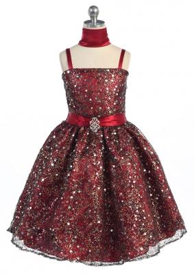 Burgundy and Wines - Flower Girl Dresses - Flower Girl Dress For Less
