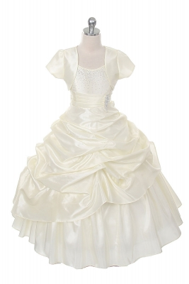 Ivory Flower Girl Dresses - Flower Girl Dress For Less
