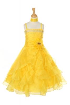 Yellows - Flower Girl Dresses - Flower Girl Dress For Less
