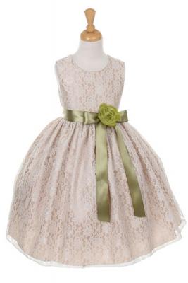 Green - Flower Girl Dresses - Flower Girl Dress For Less