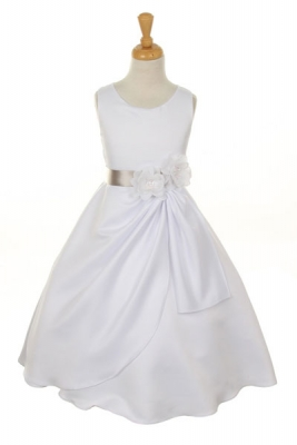 Silver Grays - Flower Girl Dresses - Flower Girl Dress For Less