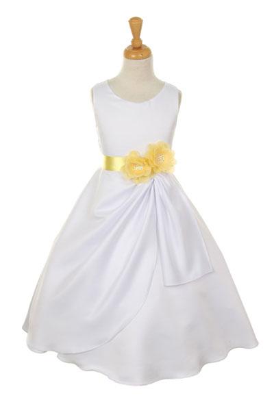 Yellow Dresses For Girls - Qi Dress