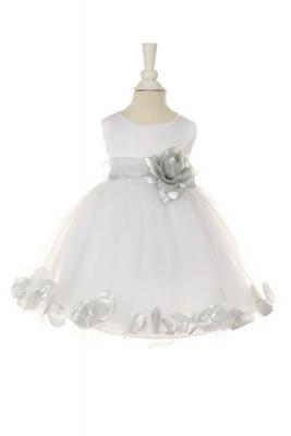 Silver Grays - Flower Girl Dresses - Flower Girl Dress For Less