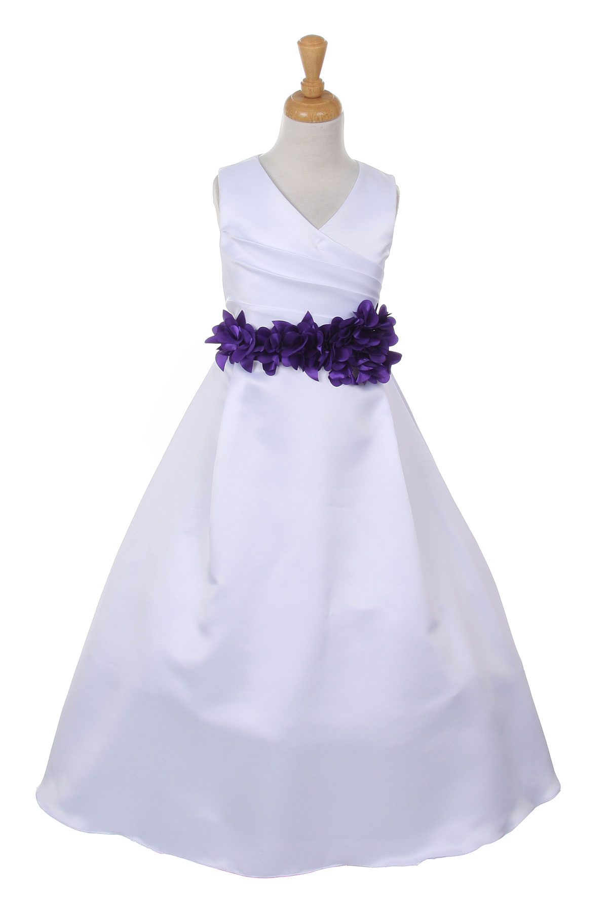 1faea91c7 Flower Girl Dresses Ivory And Purple | Saddha
