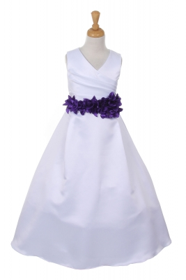 Purple - Flower Girl Dresses - Flower Girl Dress For Less