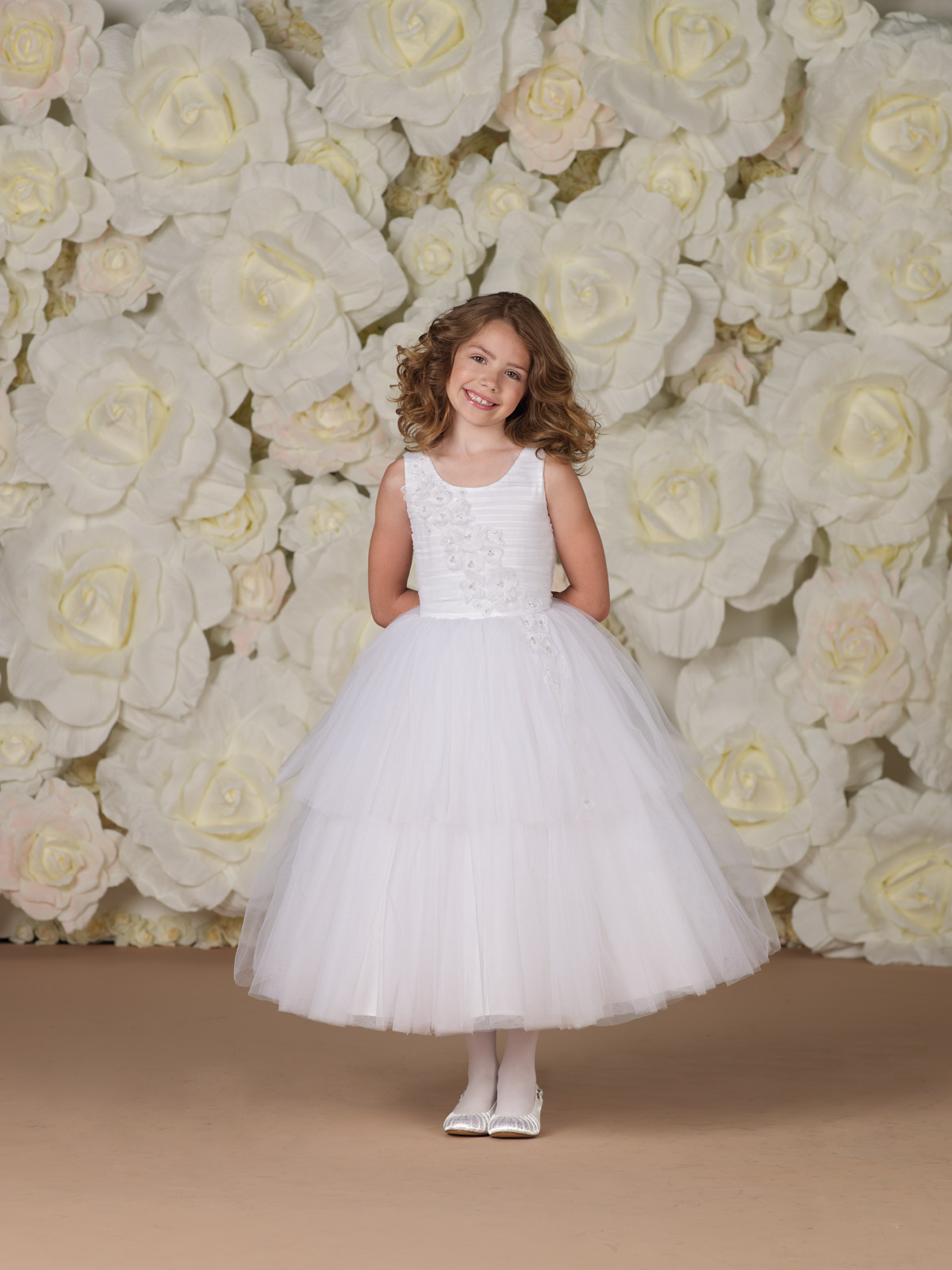 JC Joan Calabrese Style Sleeveless Tulle