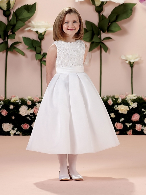 22f90ee8293 JC 114343 - Joan Calabrese Style 114343- Sleeveless Dress with Sequin and  Lace Bodice - Joan Calabrese - Flower Girl Dresses - Flower Girl Dress For  Less